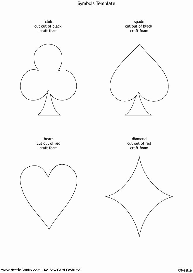 Playing Card Template Word Unique Best 25 Printable Playing Cards Ideas On Pinterest
