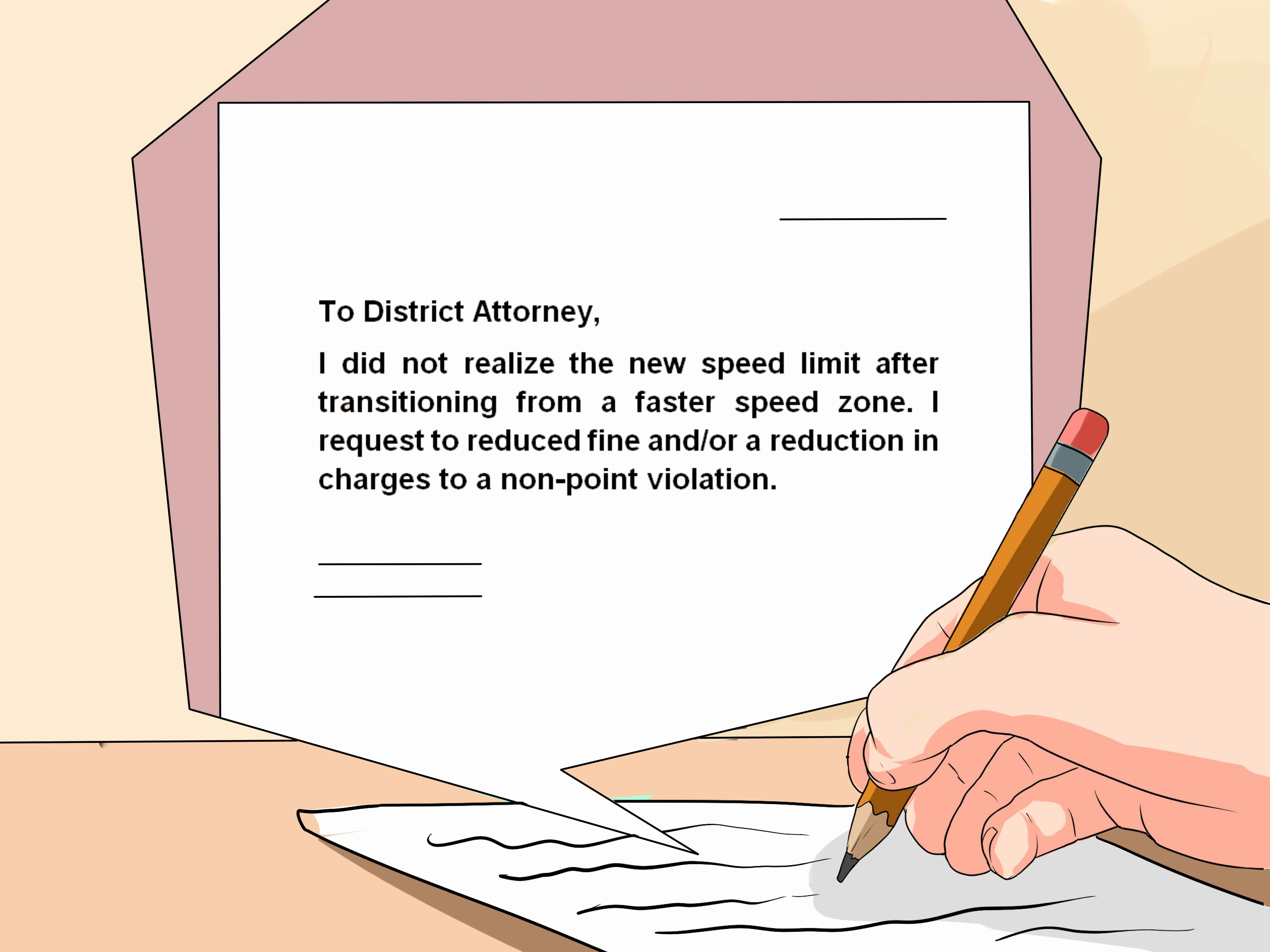 Write a Letter to the District Attorney