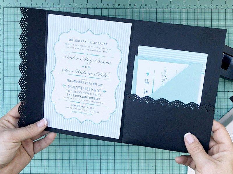 Pocket Envelope Template Lovely How to Hack An Envelope Into A Pocket Invitation