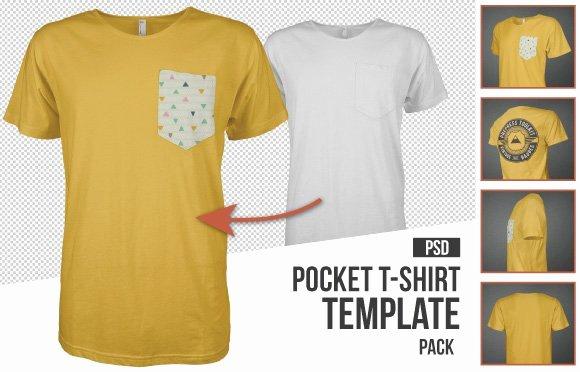 Pocket Shirt Template Elegant 10 Must Have Mockup Templates for T Shirt and Apparel Design