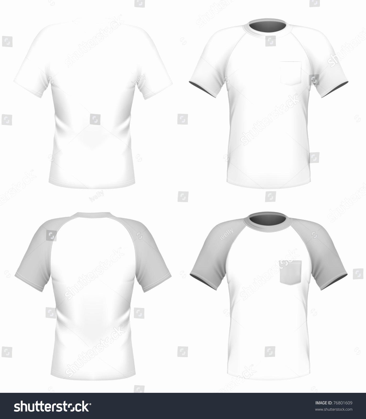 Pocket Shirt Template Fresh Vector Men S T Shirt Design Template with Pocket Front