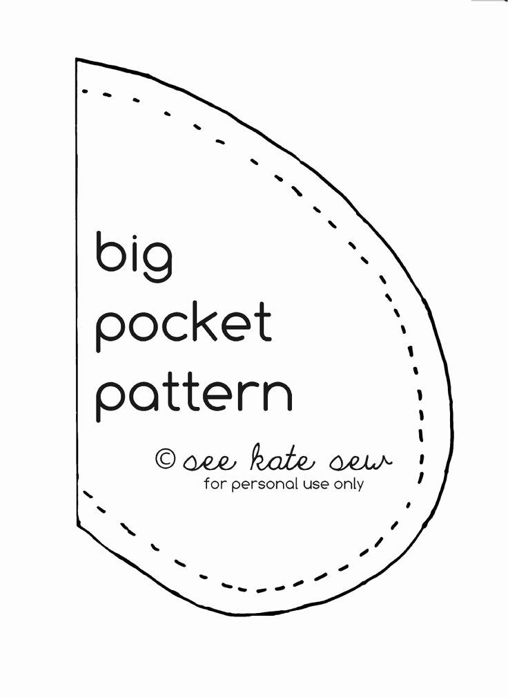 Pocket Shirt Template Unique 17 Best Images About Sewing Pocket Patterns On Pinterest