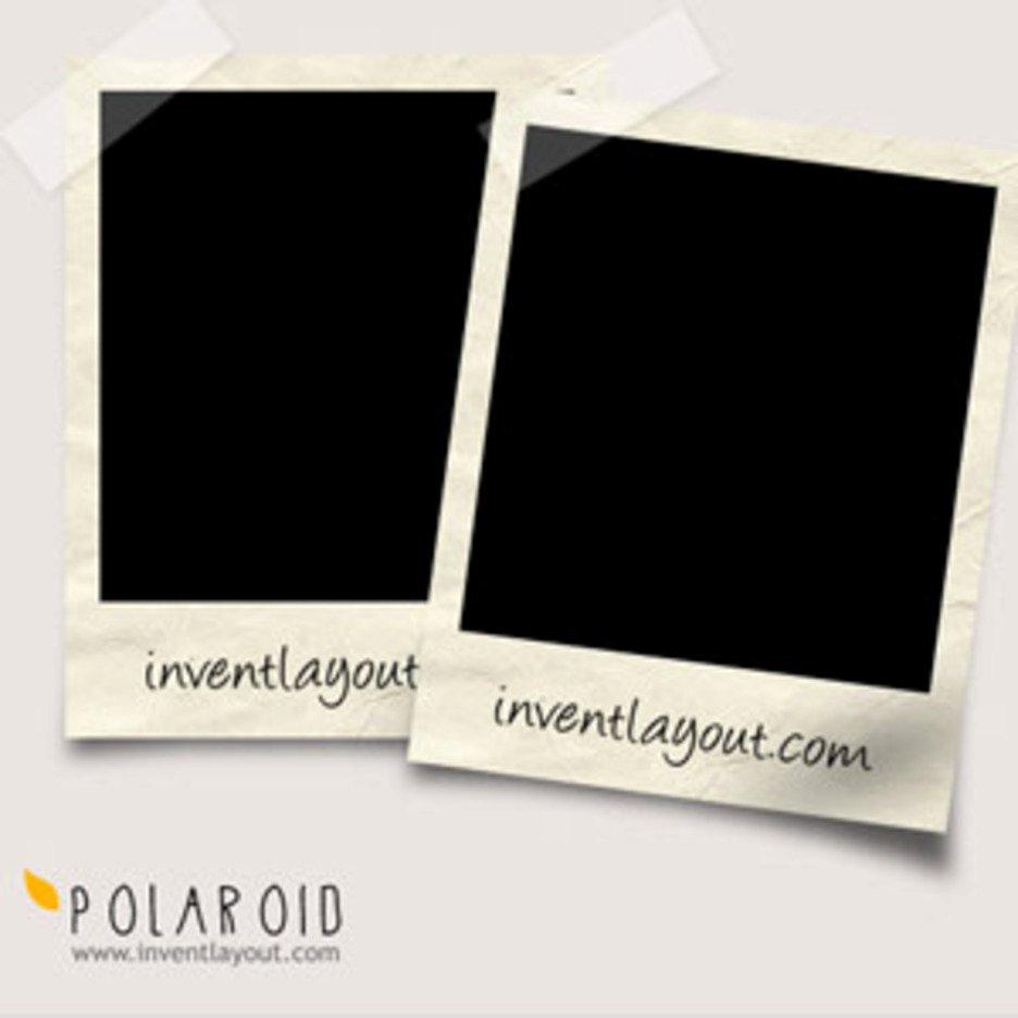 Polaroid Frame Psd Beautiful Polaroid Psd