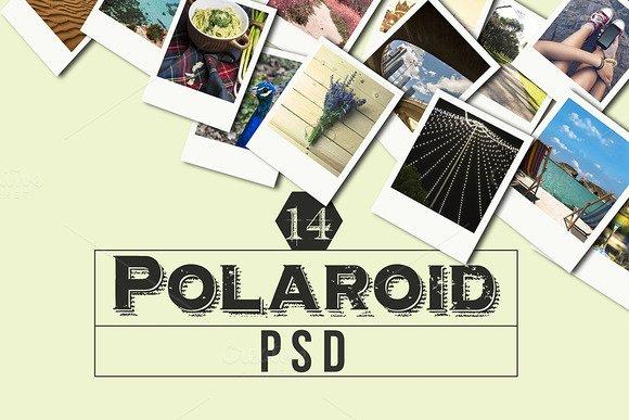 Polaroid Frame Psd Inspirational Polaroid Psd Mockup Product Mockups On Creative Market