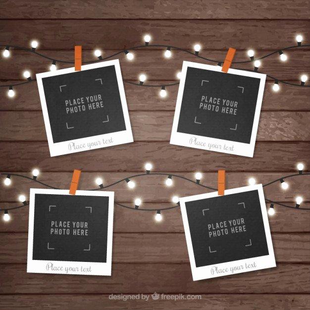 Polaroid Frame Psd Luxury Polaroid Template Vectors S and Psd Files