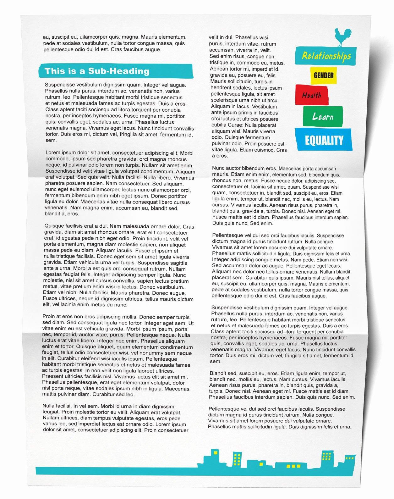 Policy Brief Template Microsoft Word Luxury Tinassiti