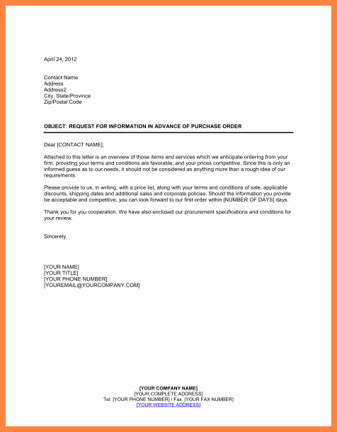 Policy Letter Template Best Of 9 Terms and Conditions for Purchase order Template