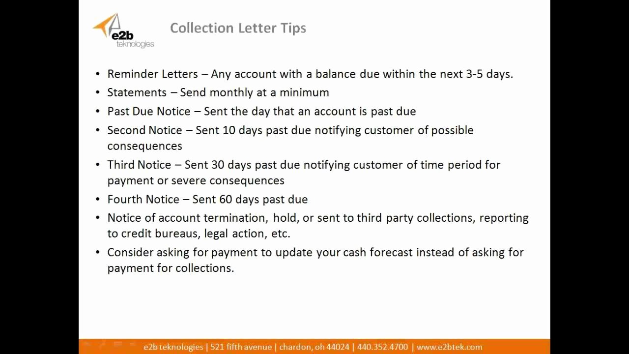 Policy Letter Template Best Of How to Create Effective Collection Letter Templates and