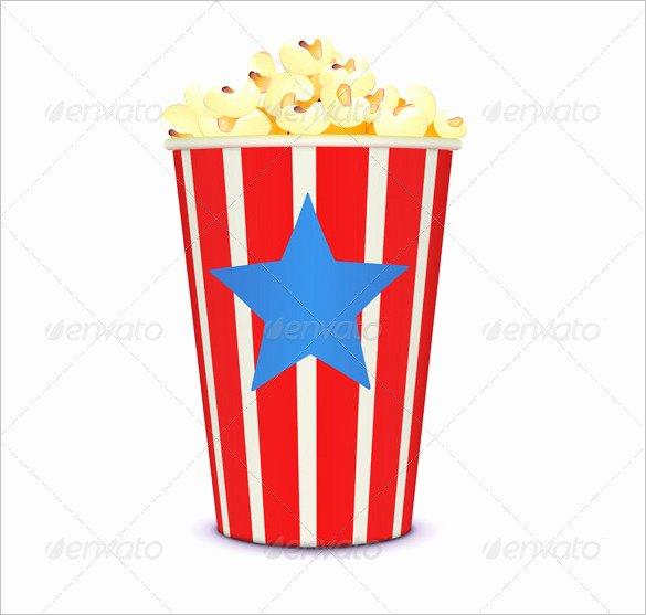 Popcorn Template for Bulletin Board Lovely 14 Best Popcorn Box Templates Pdf Psd Vector Eps