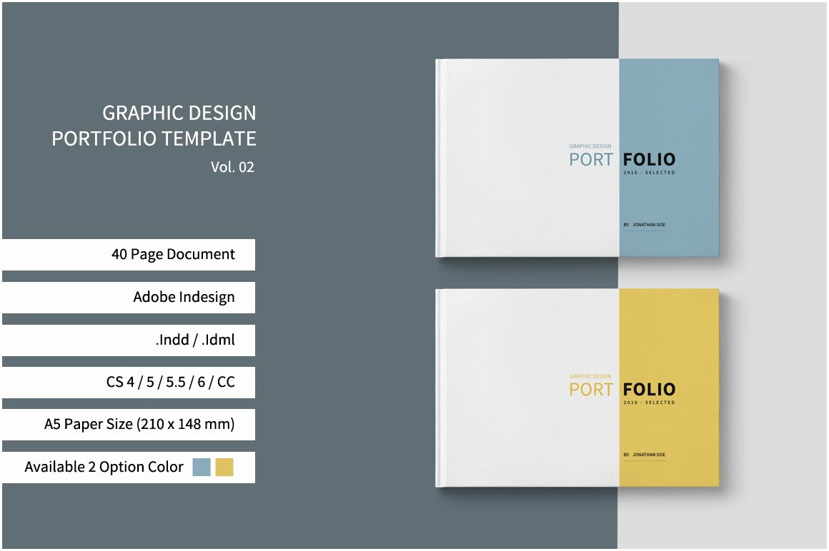 Portfolio Cover Pages Templates Lovely Graphic Design Portfolio Template Brochure Templates