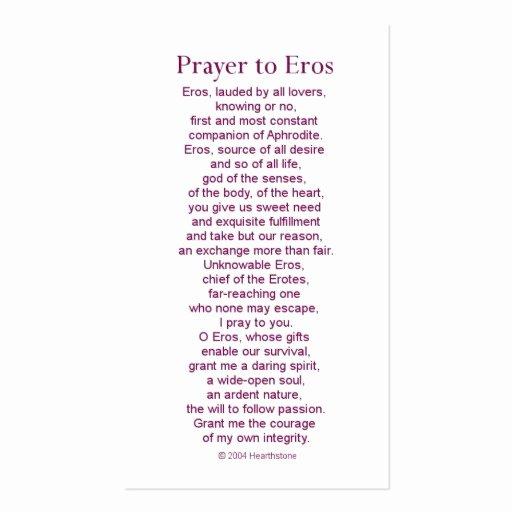 Prayer Card Templates Free Best Of Eros Prayer Card Business Card Template