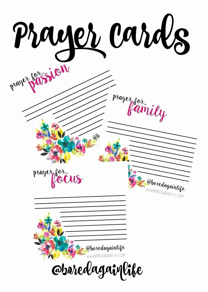 Prayer Request Cards Free Printables Lovely Fervent Prayer Cards Diy Printables