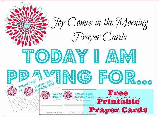 Prayer Request Cards Free Printables New Free Printable Prayer Cards