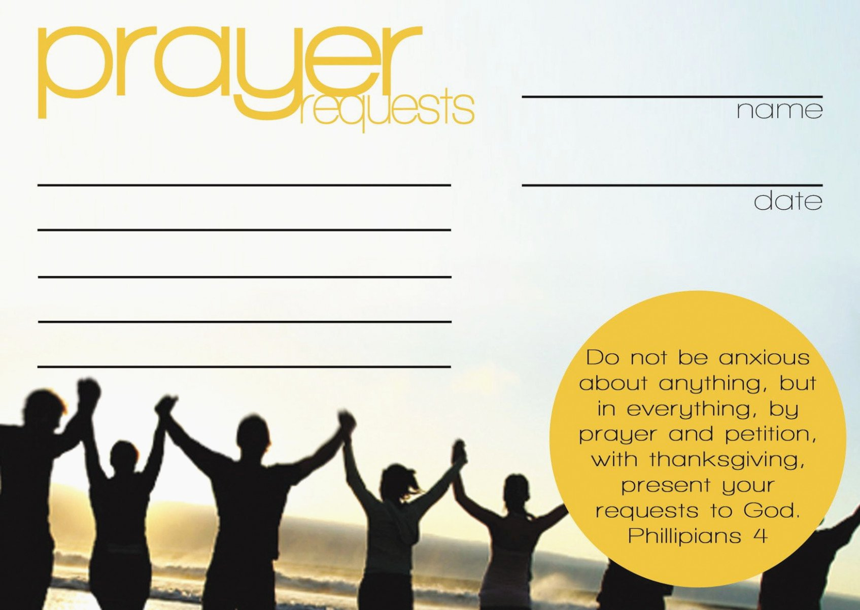 Prayer Request Cards Template New Everything You Need to Know About Prayer