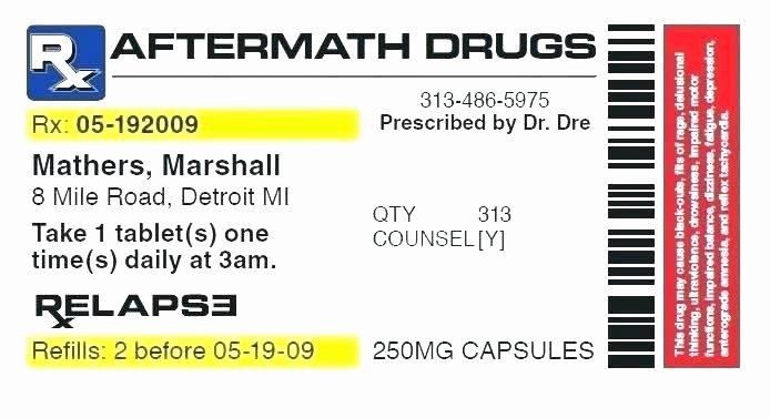Prescription Bottle Label Template Best Of Fake Prescription Label Template Lera Mera Business