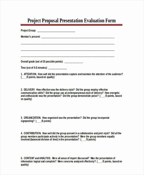 Presentation Feedback forms New 18 Presentation Feedback form In Pdf
