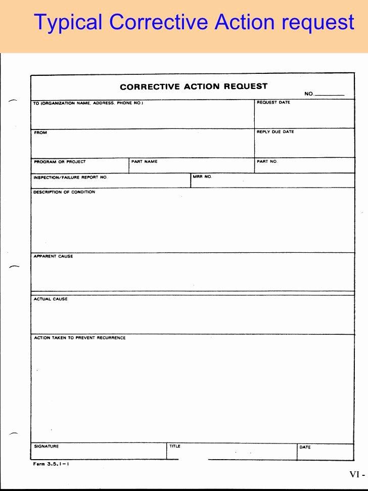 Preventive Action form Elegant Root Cause and Corrective Action Workshop Cinci asq 2009