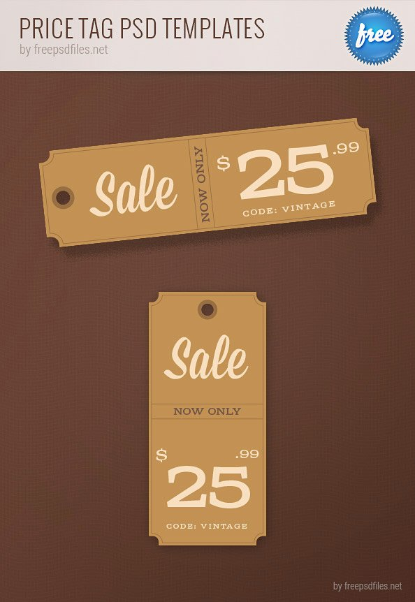 Price Tag Template Printable Best Of Price Tag Psd Templates Free Psd Files