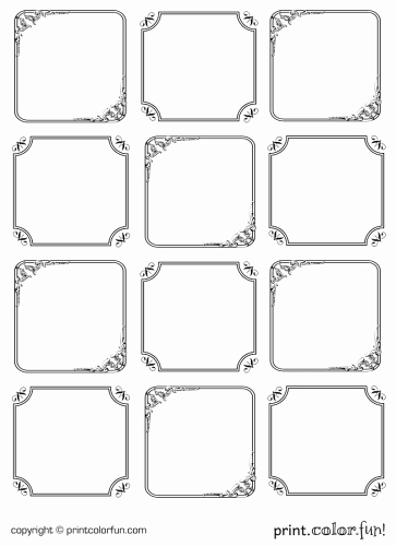 Price Tag Template Printable New 6 Best Of Free Blank Printable Tags Black and White