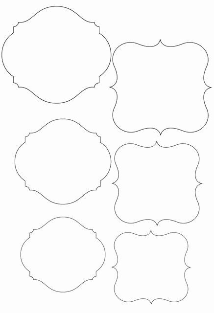 Price Tag Template Printable Unique Template Frame Cute for Price Tags