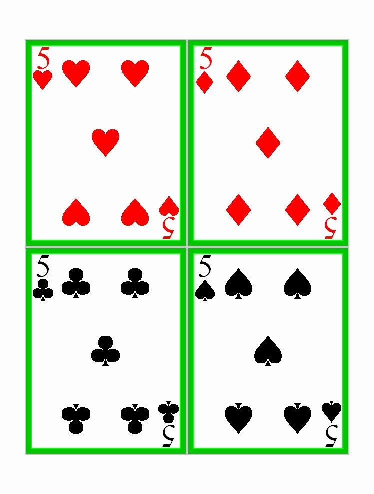 printable playing cards