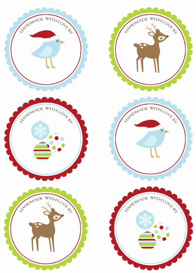 Printable Dog Tag Template Inspirational Christmas Labels for Free by Ink Tree Press