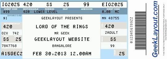 Printable Fake Tickets Fresh Fake Concert Ticket Generator Wedding Planning