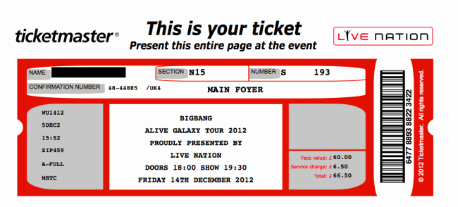 Printable Fake Tickets Lovely 26 Cool Concert Ticket Template Examples for Your event