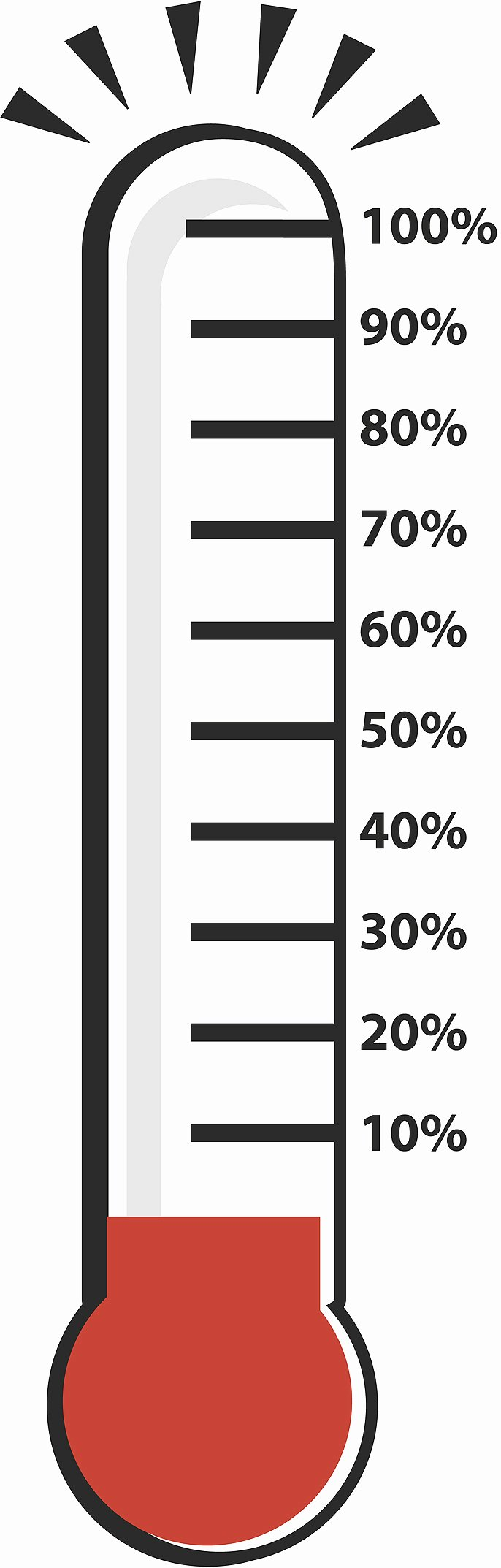 fundraising thermometer printable