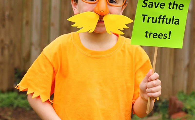 Printable Lorax Mustache and Eyebrows Inspirational Lorax Mustache Template Printable