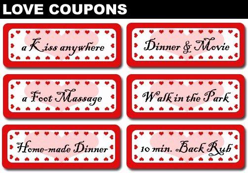 Printable Massage Coupons Beautiful 4 Girls 14 Days Of Valentine S Day Three