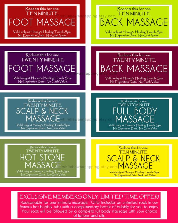 massage coupons for him or her instant