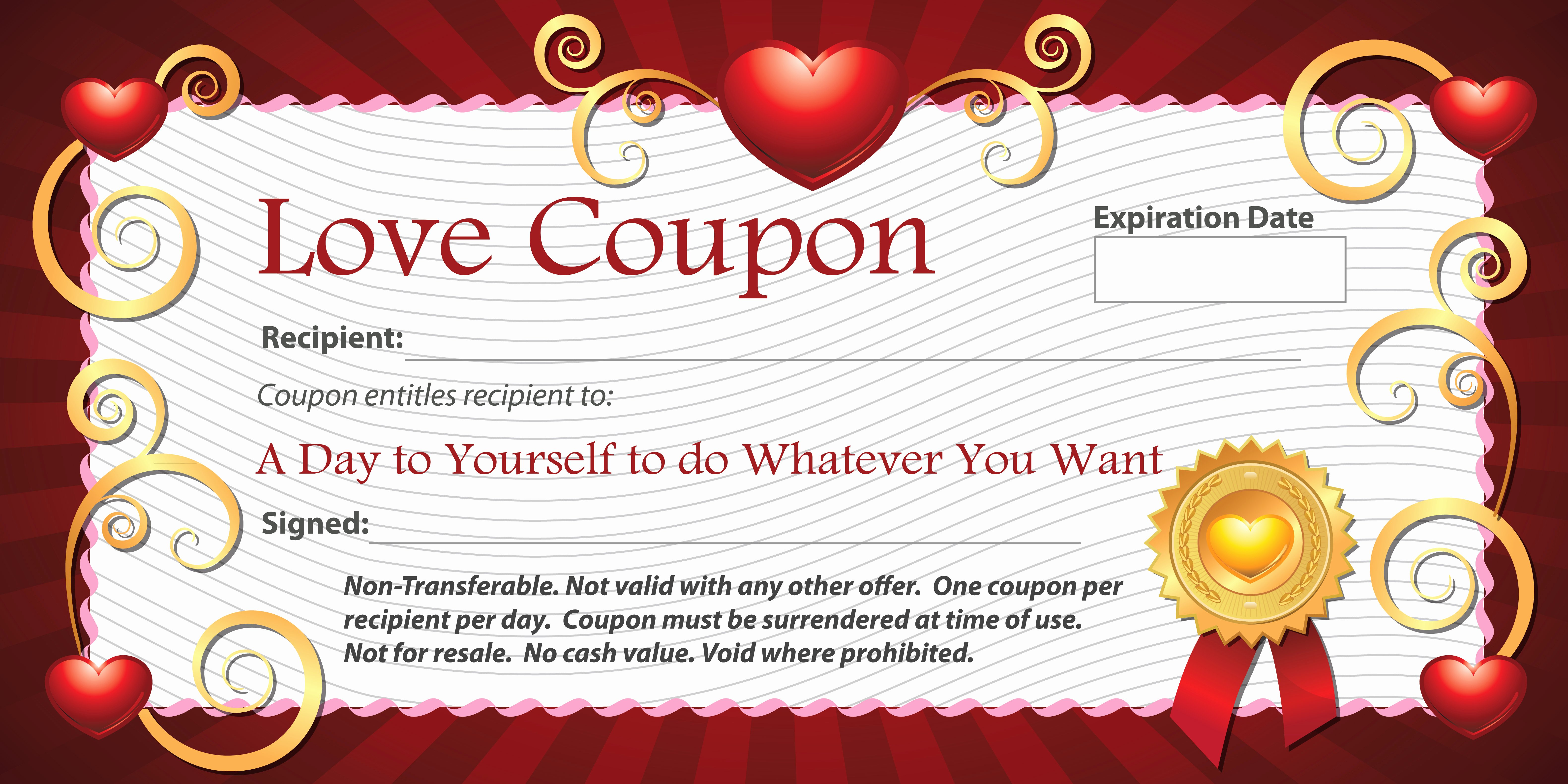 Printable Massage Coupons New 10 Personalized Gift Ideas for someone Special Collections
