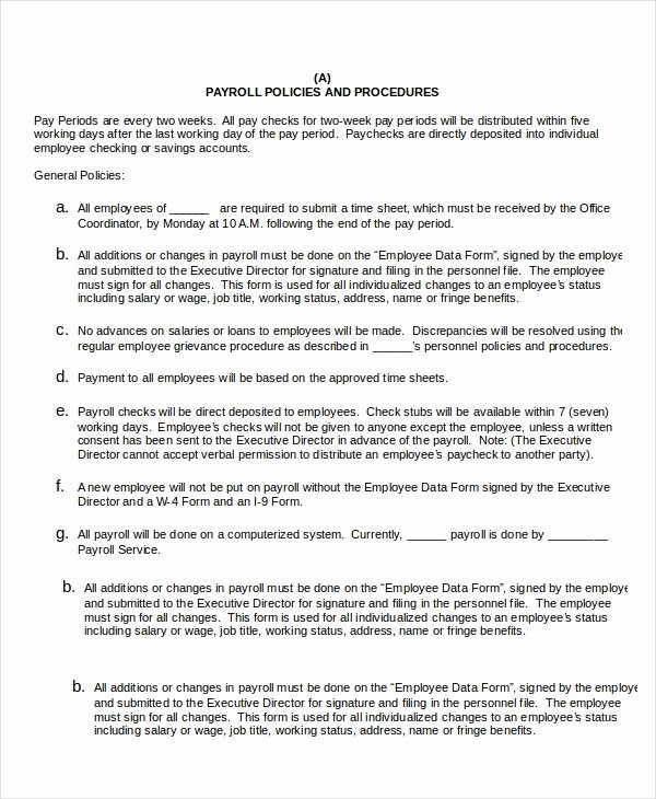 Procedure Templates Word Lovely Procedure Template 8 Free Word Documents Download