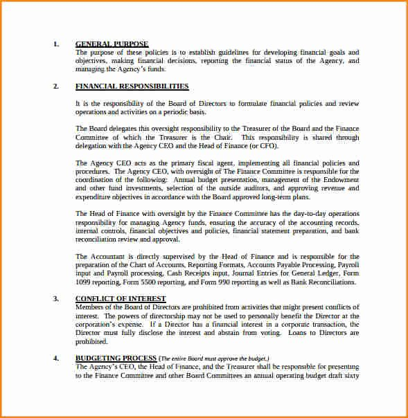 Procedure Templates Word Luxury 7 Payroll Policy and Procedure Template