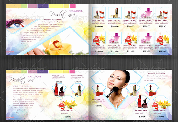 Product Catalogue Template Pdf Awesome 10 Beautiful Cosmetic Catalog Templates for Marketing Your