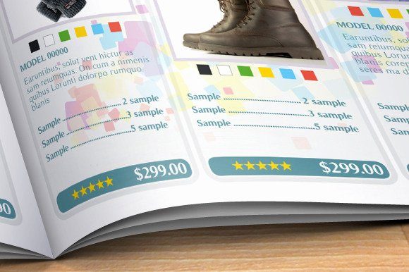Product Catalogue Template Pdf Beautiful Product Catalog Brochure Templates On Creative Market