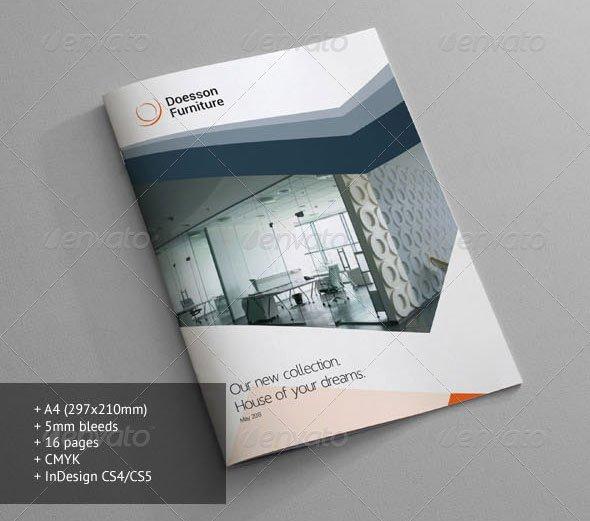 Product Catalogue Template Pdf Best Of 10 Beautiful Furniture Brochure Templates – Design Freebies