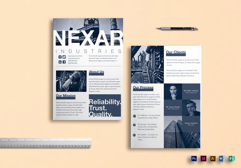 Product Catalogue Template Pdf Best Of 9 Helpful Product Brochure Templates for Non Designers