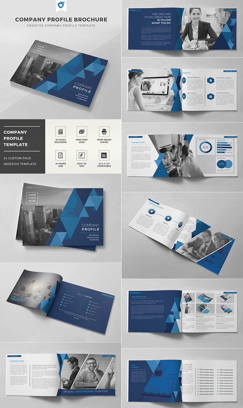 Product Catalogue Template Pdf Lovely 20 Best Indesign Brochure Templates for Creative