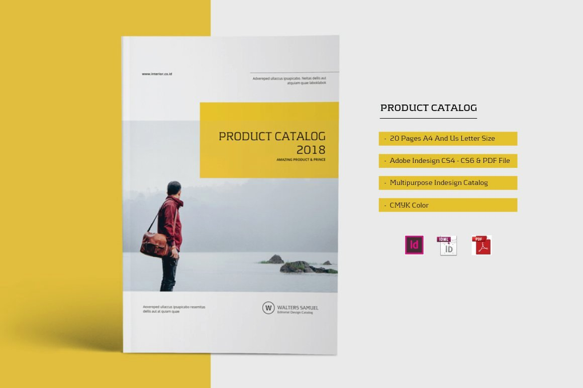 Product Catalogue Template Pdf Luxury Product Catalog Brochure Brochure Templates Creative