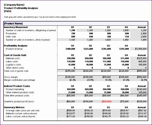 Profitability Analysis Template Elegant 10 Project Gantt Chart Template Excel Exceltemplates
