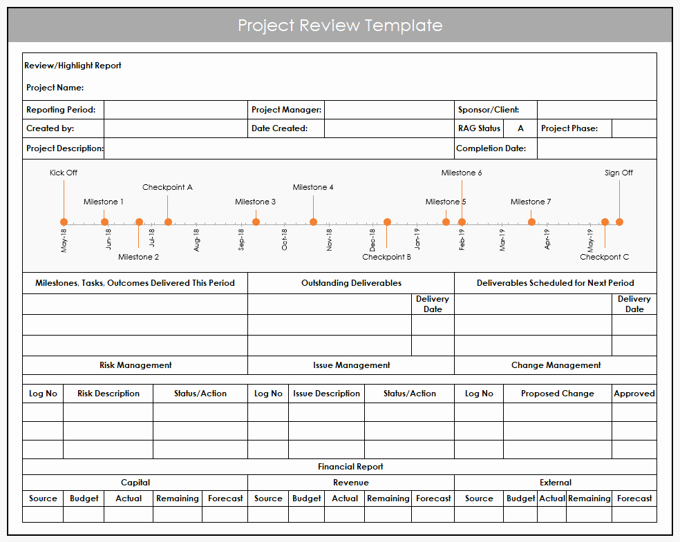 Project Status Template Excel Lovely Using Excel for Project Management