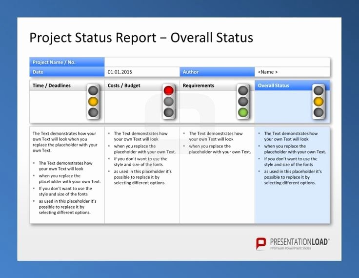 Project Status Template Excel Unique Create Weekly Project Status Report Template Excel