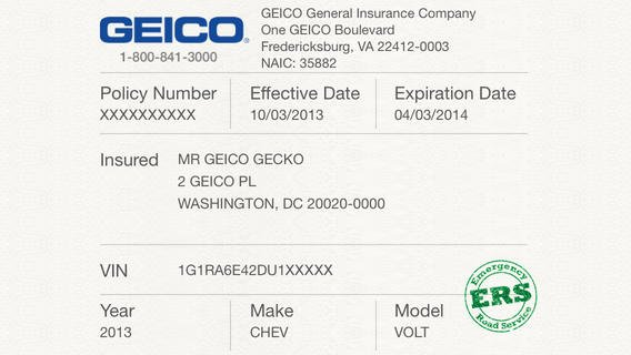 Proof Of Auto Insurance Template Free Fresh 5 Best Of Proof Insurance Card Template Geico