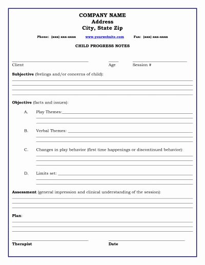 Psychotherapy Progress Note Template Pdf Best Of 83 Best Images About Documentation On Pinterest