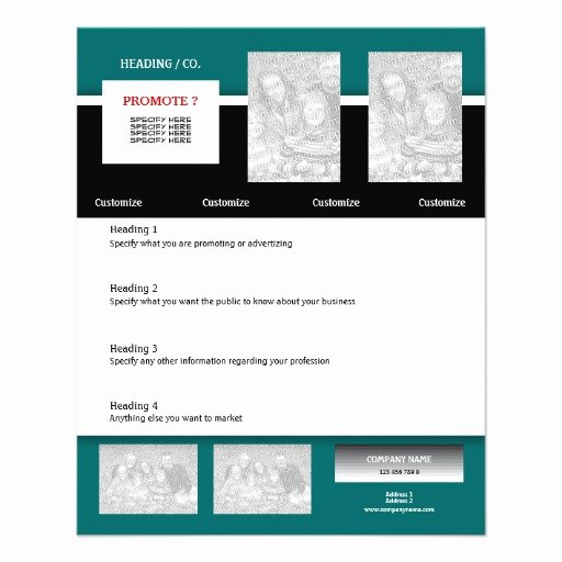 Quarter Sheet Flyer Template Lovely Quarter Page Flyer Template Fice software Free Download