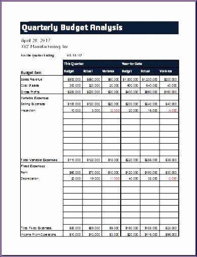 Quarterly Report Template Excel Lovely 10 Quarterly Sales Report Exceltemplates Exceltemplates