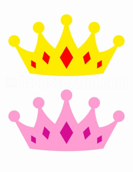 Queen Of Hearts Crown Template Unique King and Queen Crowns Clipart