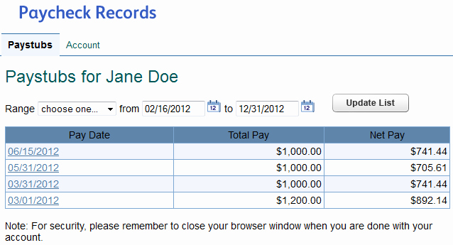 Quickbooks Pay Stub Template Unique Set Up Pay Stub Access for An Employee or Contractor